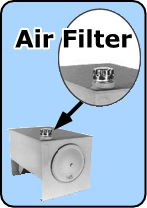 Inexpensive air filter